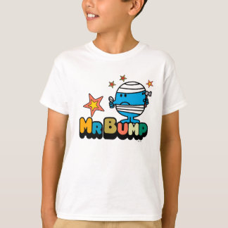 Mr. Bump   Bandaged Thumb & Stars T-Shirt