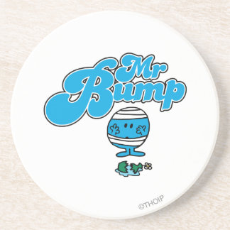Mr. Bump   Broken Vase Drink Coaster
