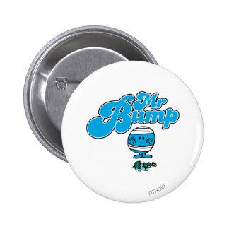 Mr. Bump   Broken Vase Pinback Button
