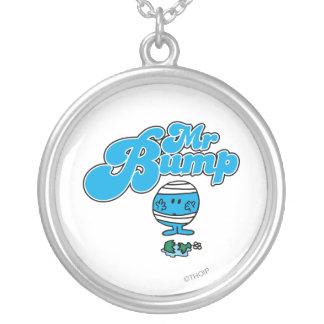Mr. Bump | Broken Vase Silver Plated Necklace