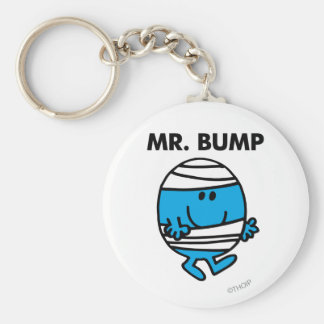 Mr. Bump Classic 1 Basic Round Button Keychain