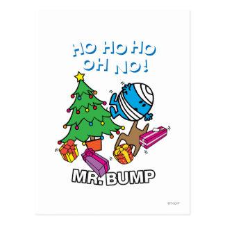 Mr. Bump Decorating A Christmas Tree Postcard