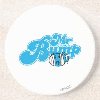 Mr Bump Logo 1 Coaster