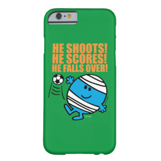 Mr. Bump Playing Soccer Barely There iPhone 6 Case