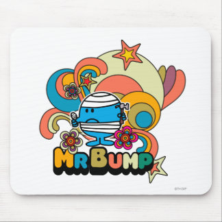 Mr. Bump | Psychedelic Thumb Injury Mouse Pad