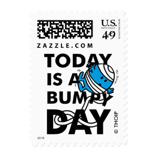 Mr. Bump   Today is a Bumpy Day Postage
