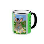 Mr. Bunny Ringer Coffee Mug