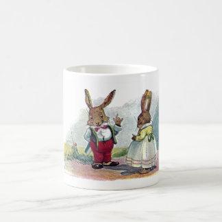 Mr Bunny Smiles at His Wife Coffee Mug
