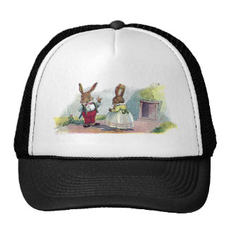Mr Bunny Smiles at His Wife Trucker Hat