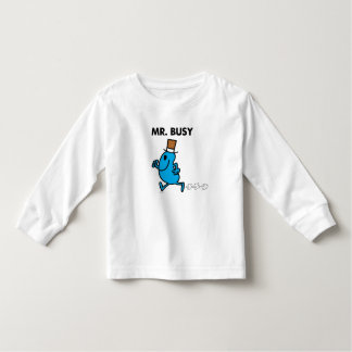 Mr. Busy Running Quickly Toddler T-shirt