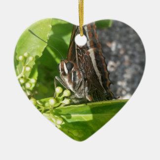 Mr Butterfly Ceramic Ornament