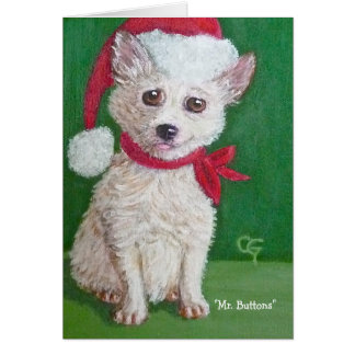 Mr. Buttons Holiday Gift Card II