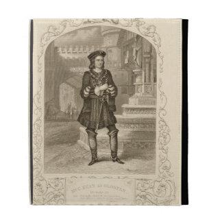 Mr C. Kean as Gloster, Act I Scene 1, in Richard I iPad Folio Covers