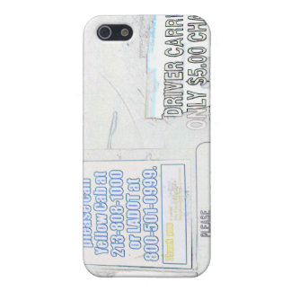 Mr. Cab Driver iPhone SE/5/5s Case