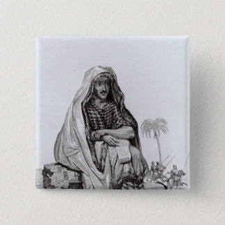 Mr Caillie  Meditating Pinback Button