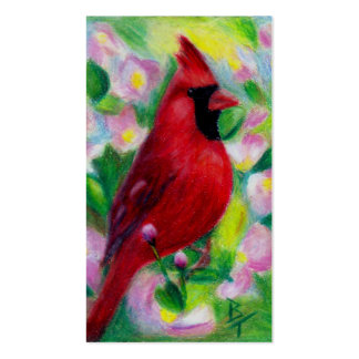 Mr. Cardinal aceo Art Card Business Card