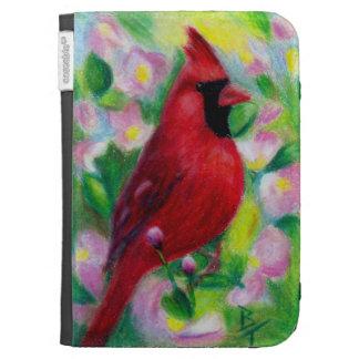 Mr Cardinal aceo Kindle Folio Cases