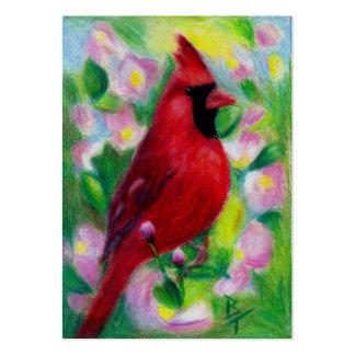 Mr. Cardinal Art Cards Large Business Card