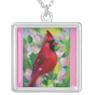 Mr. Cardinal Necklace