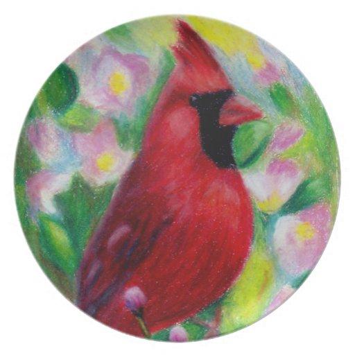 Mr. Cardinal Plate