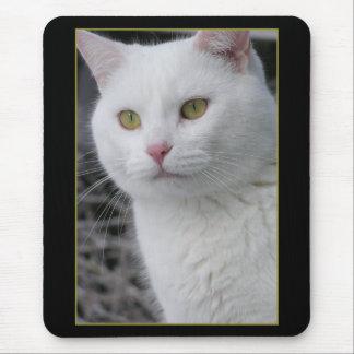 Mr. Cat Portrait Mousepad