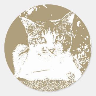 Mr. Cat Sticker 002