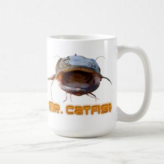 Mr Catfish fishing Coffee Mug