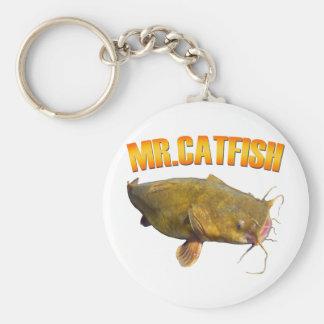 Mr Catfish fishing Keychain