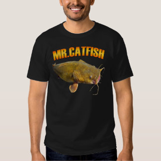 Mr Catfish fishing T Shirt