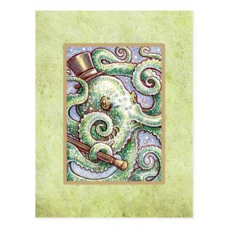 Mr Cephalopod Postcard