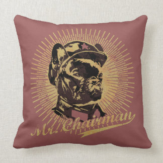 Mr Chairman Throw Pillow