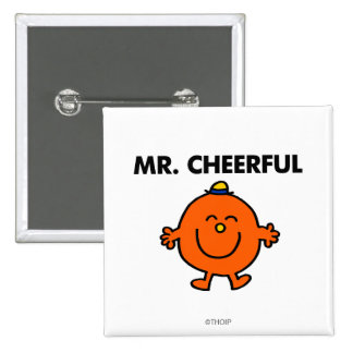 Mr Cheerful Classic Pins