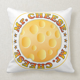 Mr Cheese Pillow