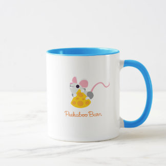 Mr. Cheeseman the Mouse Mug