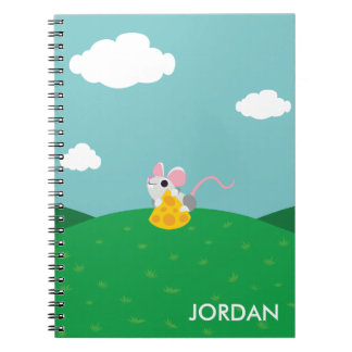 Mr. Cheeseman the Mouse Notebook