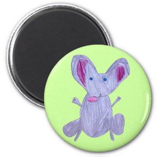 Mr. Cheesy 2 Inch Round Magnet