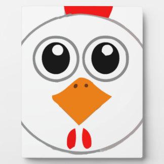 Mr Chickenz Merchandise Plaque