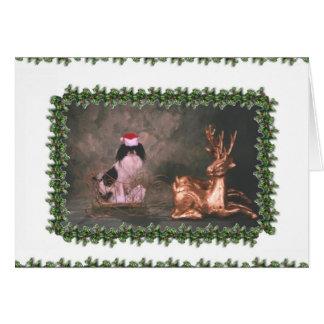 Mr Chin Christmas_sleigh Card