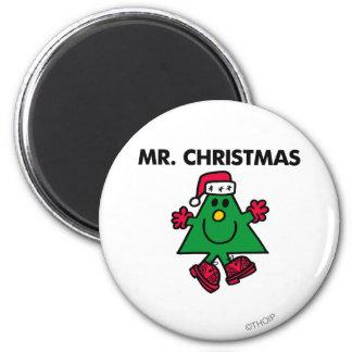 Mr. Christmas | Festive Hat & Gloves Magnet