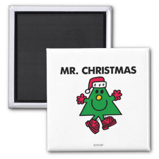 Mr. Christmas | Festive Hat & Gloves Magnet
