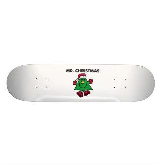 Mr. Christmas | Festive Hat & Gloves Skateboard Deck