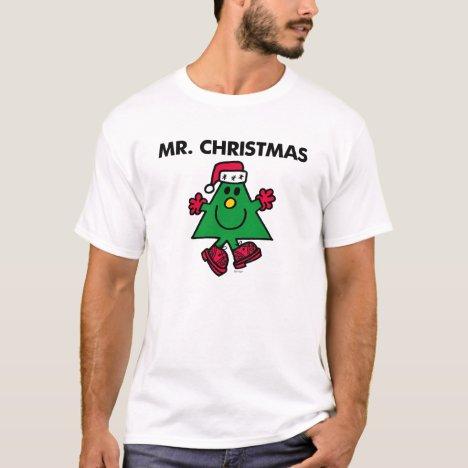 Mr. Christmas | Festive Hat & Gloves T-Shirt