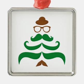 Mr Christmas Mustache Tree Ornaments