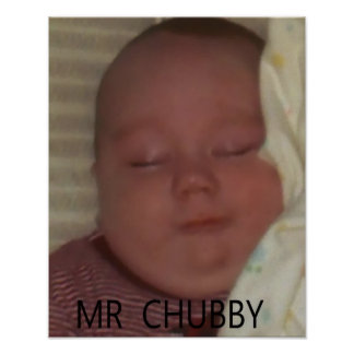 MR CHUBBY POSTERS