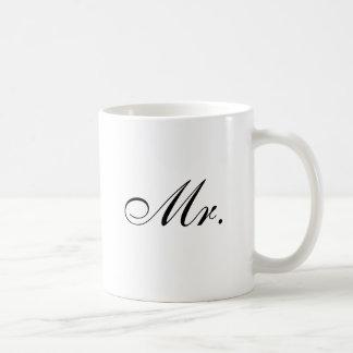 Mr. Classic White Coffee Mug