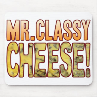 Mr Classy Blue Cheese Mouse Pad