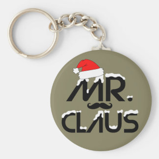Mr.Claus Funny Keychain