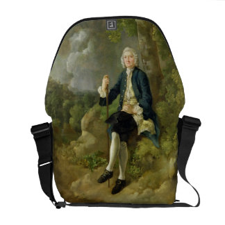 Mr Clayton Jones, c.1744-45 (oil on canvas) Courier Bag
