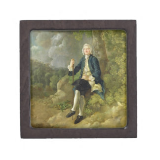 Mr Clayton Jones, c.1744-45 (oil on canvas) Gift Box