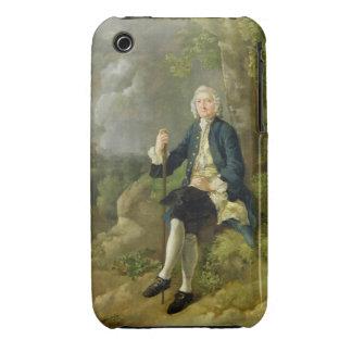 Mr Clayton Jones, c.1744-45 (oil on canvas) iPhone 3 Case-Mate Case